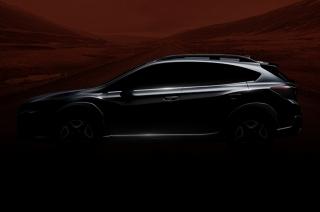 Subaru teases all-new XV ahead of Geneva debut