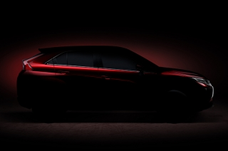 Mitsubishi's teaser for an all new compact SUV set for Geneva