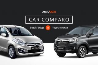 Suzuki Ertiga vs Toyota Avanza