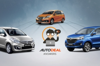 Suzuki Ertiga, Honda Mobilio, Toyota Avanza