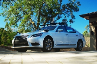 2.0 advance safety research vehicle from Lexus LS 600hL platform