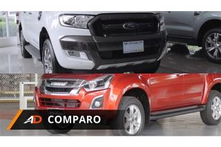 Ford Ranger vs Isuzu D-Max