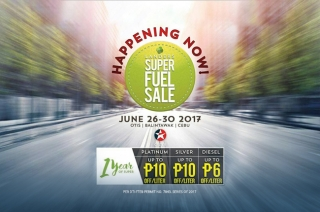 Caltex Landers Super Fuel Sale