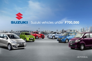 Suzuki cars under P700,000