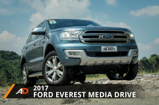 2017 Ford Everest Media Drive