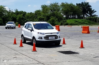 Ford EcoSport at the Driving Skills for Life Campaign