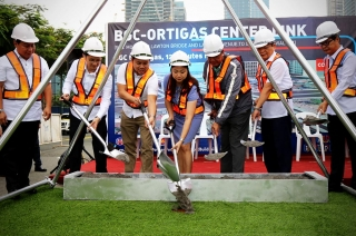 DPWH BGC-Ortigas Center Link groundbreaking ceremony