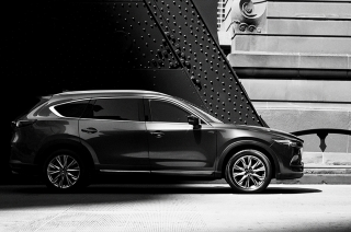 Mazda CX-8 teaser photo