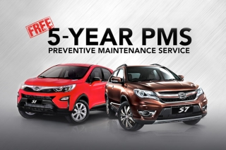 BYD 5 -year PMS program