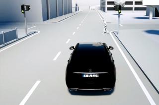 Mercedes-Benz's pedestrian airbag