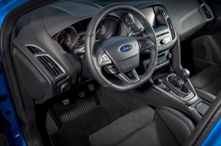 Ford patent steering wheel and pedals