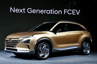 Hyundai's unnamed fuel cell SUV