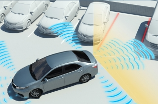 Toyota Intelligent Clearance Sonar