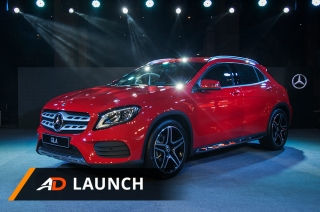 2018 Mercedes Benz GLA - Launch