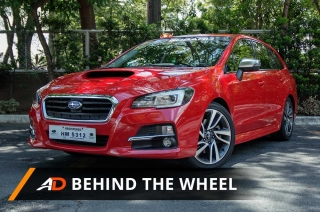 2017 Subaru Levorg GT-S - Behind the Wheel