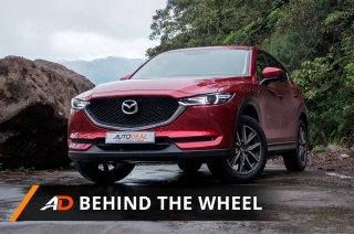 2018 Mazda CX-5 AWD Soul Red Crystal - Behind the Wheel