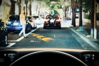 Denso head-up display