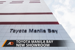 Toyota Manila Bay's New Showroom