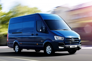 Hyundai H350 Luxury Van