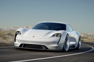 Porsche Mission E render