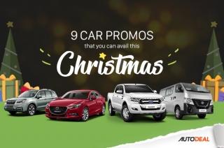 AutoDeal Christmas Promos