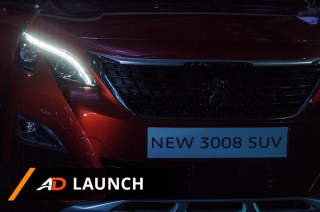 Peugeot new 008 Lineup - Launch
