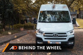 Hyundai H350 - Behind the Wheel