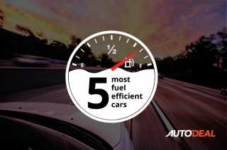 Top 5 fuel-efficient cars
