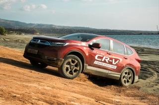 Honda CR-V media drive