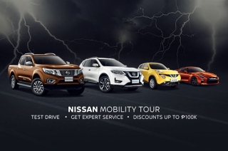 nissan dares to be bold mobility tour promo
