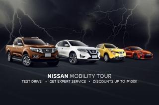 nissan dares to be bold mobility tour promo