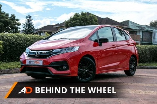2018 Honda Jazz 1.5 RS Navi - Behind the Wheel
