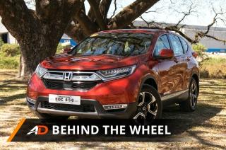 2018 Honda CR-V Diesel 1.6 SX - Behind the Wheel