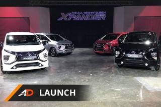 Mitsubishi Xpander - Launch