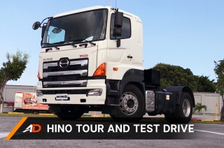 Hino Factory Tour and Test Drive