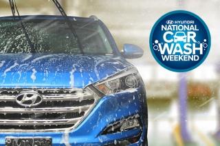 Hyundai free car wash