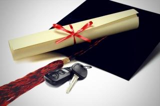 Car graduation gift