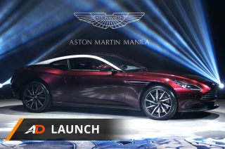 Aston Martin DB11 V8 - Launch