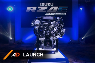 New Isuzu RZ4E Blue Power