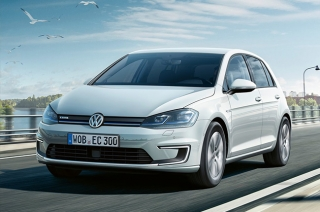 VW Electric Golf Hybrid