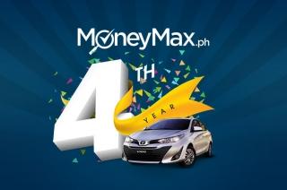 moneymaxph anniversary promo 2018 toyota vios