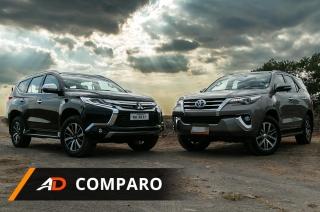 Mitsubishi Montero vs Toyota Fortuner - AutoDeal Comparo