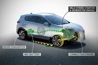 new kia mild-hybrid diesel engine