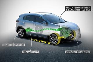 new kia mild-hybrid diesel engine