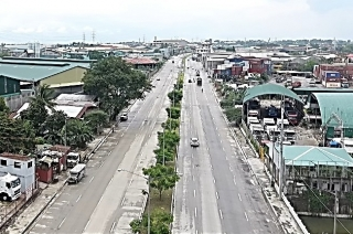 Department of Public Works and Highways Mindanao Avenue Extension project
