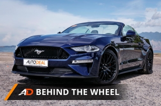 2018 Ford Mustang GT Premium Convertible AT - Behind the Wheel