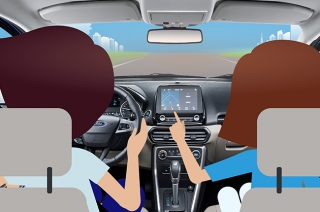 Driving distractions aren't limited to mobile phones anymore.