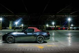 Mazda 2018 MX-5 Dark Cherry Soft Top Coupe
