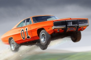 General Lee Dodge Charger from Dukes of Hazzard