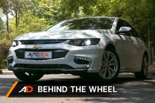 2018 Chevrolet Malibu - Behind the Wheel